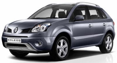 Photo du design extérieur Renault Koleos de série