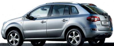 Photo du design extérieur Renault Samsung QM5